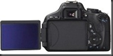 Canon T3i Retractable LCD