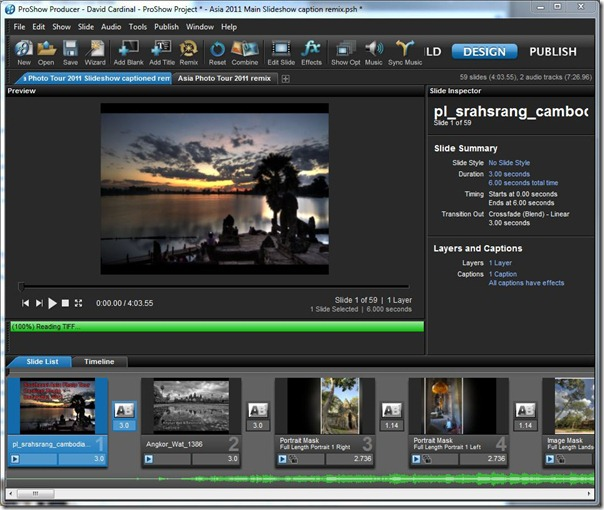 ProShow 5 Producer Screen Shot