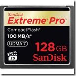 Sandisk 128GB 100MB CompactFlash Card