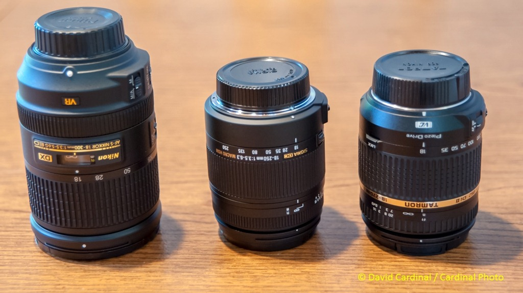 All new Superzooms face-off: Nikon 18-300mm, Sigma 18-250mm, Tamron ...