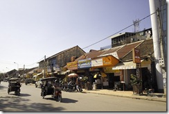 Siem Reap, Cambodia is a lively place at all times of day and night.