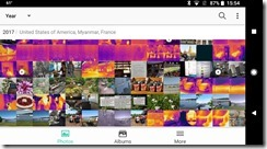 Moments easily organizes your images